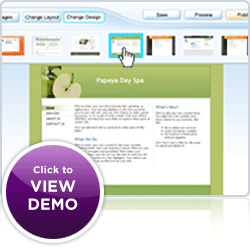 View web hosting demo