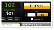 New Live Auction Draft App