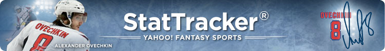 Yahoo! Sports Fantasy Hockey StatTracker