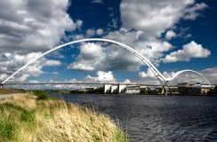 Infinity Bridge, Stockton on Tees, England