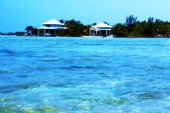 Cayo Espanto in Ambergis Caye, Belize