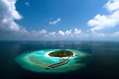 Beach House in Manafuru Island, Maldives