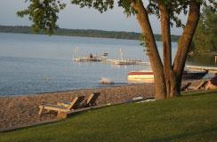 Bemidji, Minnesota, on Lake Bemidji