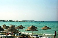 Cesme Peninsula, Turkey.