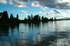 Bigfork, Montana, on Flathead Lake