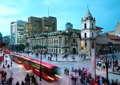 Bustling Bogotá, Colombia