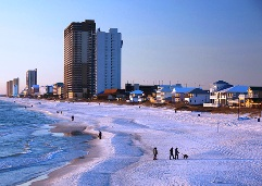 January 2011 photo of Panama City Beach, Fla.
