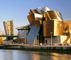 The  Guggenheim, Bilbao, Spain