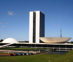 National  Congress Hall, Brasilia, Brazil