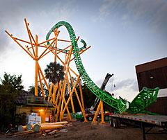 Cheetah Hunt Roller Coaster, Busch Gardens, Tampa, Florida