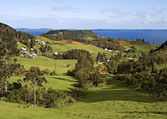 The lush Chiloé archipelago