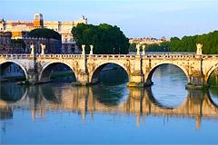 Ponte Sant' Angelo, Rome, Italy