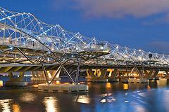 The Singapore Helix Bridge, Singapore