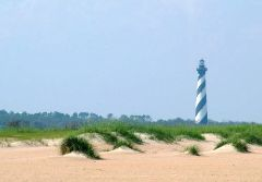 Lighthouse on Cape Hatteras, Buxton, N.C.