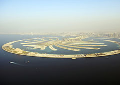 Palm Islands archipelago in Dubai