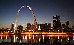 Gateway Arch in St. Louis