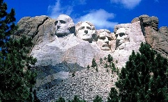 Mount Rushmore, in western South Dakota