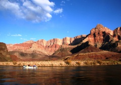 River rafting in the Grand Canyon, Arizona