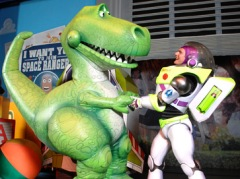 <i>Toy Story 3</i>, Select Disney Attractions