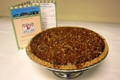 Southern pecan pie from Yoder's Amish Restaurant in Sarasota, Florida