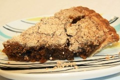 Shoo-fly pie from Dutch Haven in Ronks, Pennsylvania