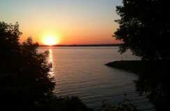 Sackets Harbor, New York, on Lake Ontario