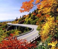 Blue Ridge Parkway through Virginia and the Carolinas
