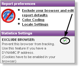 Exclude My Browser from Tracking