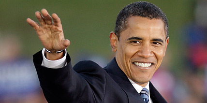 Democrat Barack Obama.(AP)