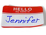 Name tag reading