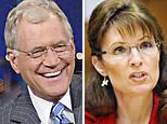 David Letterman and Sarah Palin (AP)