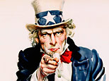 I Want You for the U.S. Army Recruitment Poster by James Montgomery Flagg (Corbis)