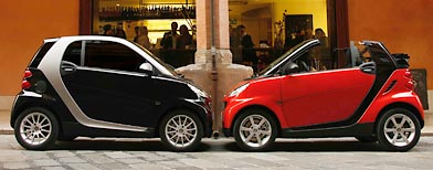 Smart cars (AP file photo)