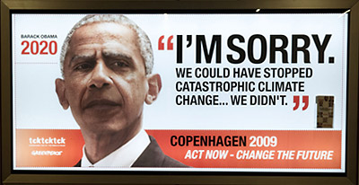 Barack Obama Greenpeace ad