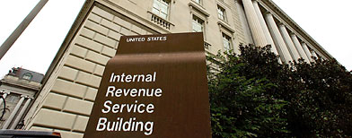 The Internal Revenue Service.  (Photo by Mark Wilson/Getty Images)