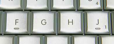 Part of a computer keyboard. (Getty Images)