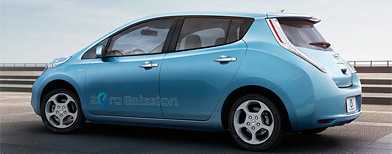 Nissan Leaf (Courtesy of Nissan Motors)