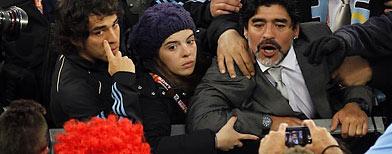 Diego Maradona, Reuters