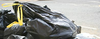 Trash bags (Getty Images)