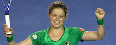Dramatic rally earns Clijsters Open win