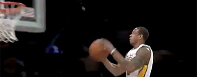 Brown's mighty NBA dunk
