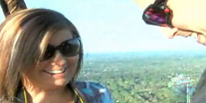 Man proposes in hot air balloon (WXII)