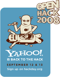 Yahoo! Open Hack Day 2008