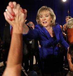Oklahoma Gov.- elect Mary Fallin