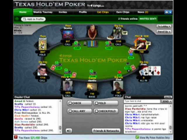 Zynga poker online free