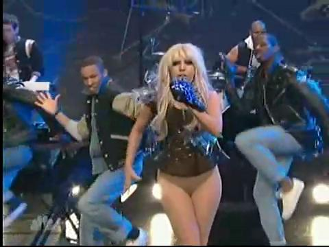 Lady Gaga Performs Just Dance on Tonight Show With Jay Leno @ Yahoo! Video