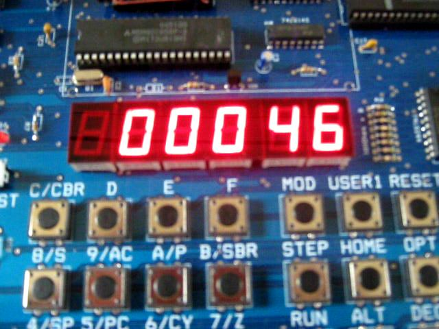 Integer number counting on 7-segment display @ Yahoo! Video