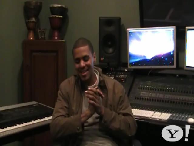 J. Cole - Yahoo! Music Video Interview Pt. 2 @ Yahoo! Video