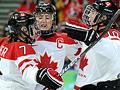 Ice hockey: Canadian women on their dominance