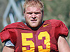 Trojan offensive line package from fall camp